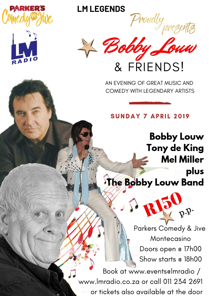 Bobby Louw and friends