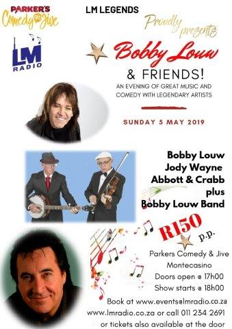 LM Radio presents Bobby Louw and Friends