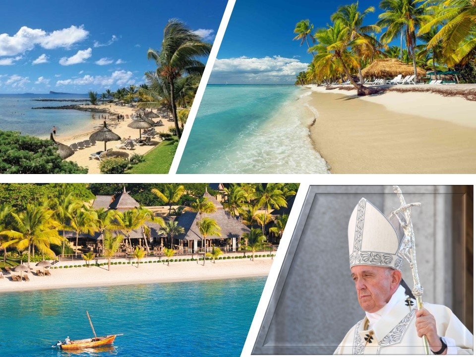 PAPAL MASS IN MAURITIUS